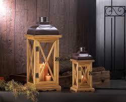 Vintage Home Decor Wholesale Hayloft Large Wooden Candle Lantern Wholesale At Koehler Home