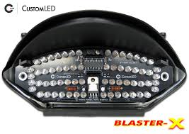 2002 2007 honda 599 919 blaster x integrated tail light custom led