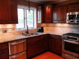 Download Kitchen Backsplash Cherry Cabinets Gencongresscom - Kitchen backsplash ideas dark cherry cabinets