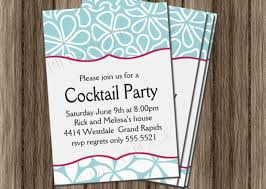 cocktail party invitation wording photo holiday cards custom