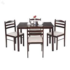 Royal Oak Hunter Four Seater Dining Table Set Black Amazonin - Black dining table for 4