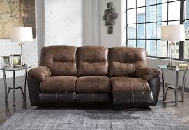 Ashley Furniture Loveseat Recliner Ashley Follett Reclining Sofa And Love Dream Rooms Furniture