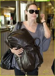 angelina jolie heathrow airport 11