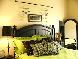 Green Bedroom Wall Designs Lime Green Room Decorations 9797