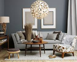 Living Room Colors With Brown Furniture Bohemian Orange Couches To Achieve A Bohemian Look Use The Same