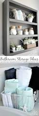 Bathroom Shelving Ideas by Best 20 Bathroom Wall Shelves Ideas On Pinterest Bathroom Wall