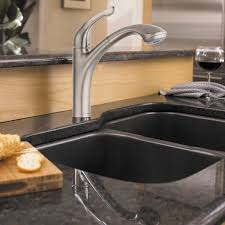 Single Hole Kitchen Faucets Hansgrohe Allegro E Lowrider Kitchen Faucet
