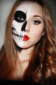 Halloween Kids Witch Makeup by A Few Sparks Half Skull Face Perfect For Trick Or Treating With