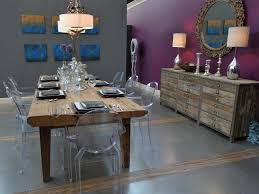 dining room spacious dark grey dining room color black