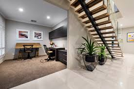 Open Home Office The Burlington Ben Trager Homes Perth Display Home Study