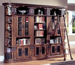 parker house da vinci glass door bookcase wall u2014 buy parker house