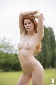 Heidi Romanova Curly haired lady body in Playboy|Elite Babes