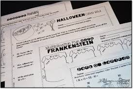 printable halloween worksheets halloween activities and ideas for upper elementary teaching to