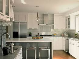 decorations best kitchen subway tile backsplash inexpensive kitchen metallic backsplash