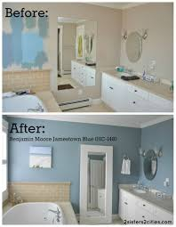 Paint For Bathroom Walls Master Bathroom Paint Color Reveal Master Bathrooms Paintings
