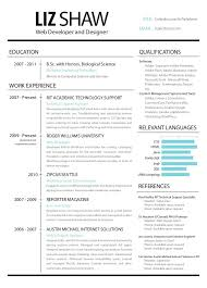 Aaaaeroincus Surprising Resume Web Development And Design With