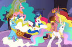 Princess Celestia G1 Relations by *AquaticNeon on deviantART
