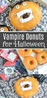 vampire fangs spirit halloween easy dracula donuts vampire donuts for halloween