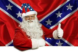 Rebel Flag Home Decor by Confederate Rebel Flag Santa Hat