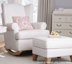 Wingback Rocking Chair Rocking Chair Recliner For Nursery Inspirations Home U0026 Interior