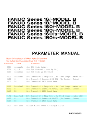 100 fanuc series 18 m control parameter manual 2000