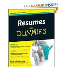 Resumes for Dummies  Call   RCL    Pinterest