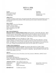 Medical Clerk Resume Sample by Resume Objectives General Labor