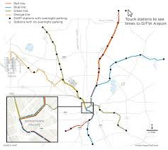 Map Of Dallas Fort Worth Airport by What You Need To Know Now That Dart Finally Reaches D Fw Airport