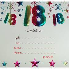 Birthday Invitation Cards Models 18th Birthday Party Invitations Themesflip Com