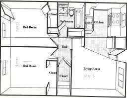 600 square foot modern apartment floor plan novel 600 sq ft