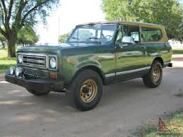 international scout ii 76k original miles 345 v8 4x4