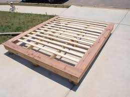 Build Diy Platform Bed by Ana White Build A Much More Than A Chunky Leg Bed Frame Free