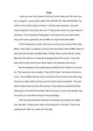 examples of good college essays