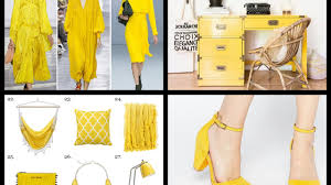 Yellow Interior by Primrose Yellow Pantone Fashion Color Trends Summer 2017