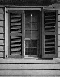 file photograph of a window of the dr benjamin shaw house ste