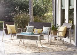 Patio Accents by Cosco Outdoor Products Cosco Outdoor Living Mid Century Modern 4