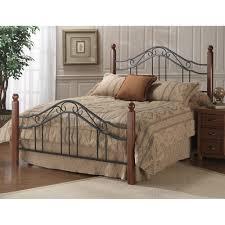 Palliser Alula Madison Wood U0026 Iron Bed In Cherry Humble Abode