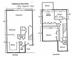 Floor Plan House 3 Bedroom Interior Design 15 3 Bedroom Apartment Floor Plans Interior Designs