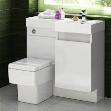 Bathroom Combined Vanity Units by Basin U0026 Toilet Vanity Unit Combination Square Bathroom Suite Sink