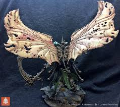 40k hobby painting up mortarion bell of lost souls