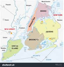 Liverpool Ny Map New York City 5 Boroughs Map Stock Vector 152208935 Shutterstock