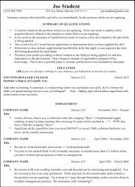 Sample Resume Management Position Basic Resumes Templates Sample Resume123
