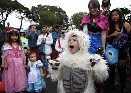 costumed kids join zoo animals for a day of halloween fun sfgate
