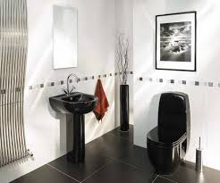 black and white accessories for bathroom home design ideas