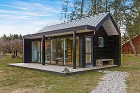 A Frame Cabin Floor Plans With Loft Small Modern And Minimalist Houses Small House Bliss