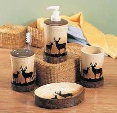Moose Bathroom Accessories by Bathroom Decor Sets For 75 Stylish Bathroom Accessories Sets