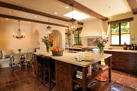 California Kitchen Design by Kitchen In California Spanish Style Home With Contemporary Twist