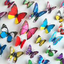 wall stickers 3d pvc butterfly wall stickers beauty your living wall stickers 3d pvc butterfly wall stickers beauty your living room bedroom christmas wall art new large stickers for walls large vinyl wall decals from