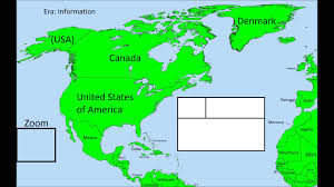 Map For United States by Future Of North America Map Preview Youtube