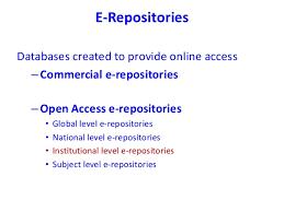 Open access e repositories kelaniya workshop final